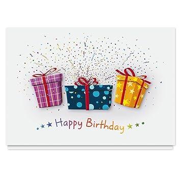 Amazon Birthday Explosion Greeting Card 25 Premium Birthday