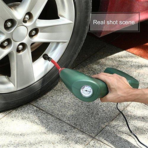 krismilen portatif portable air compresseur auto pneu gonfleur pompe voiture outil ext rieur. Black Bedroom Furniture Sets. Home Design Ideas