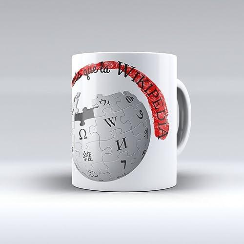 taza de desayuno mi papá sabe más que la wikipedia