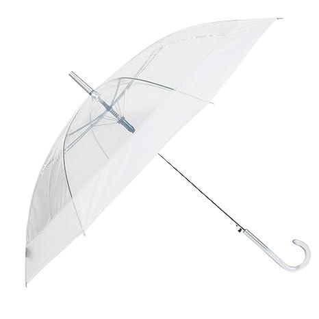 Parfois - Paraguas Transparent - Mujeres - Tallas L - Incolor
