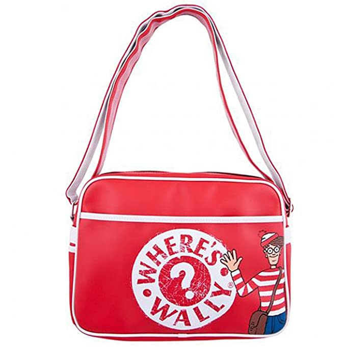 Amazon.com: Wheres Wally Where's Wally Retro Style Shoulder / Sports Bag:  Home & Kitchen