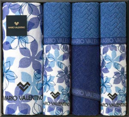 MARIO VALENTINO ( Mario Valentino ) [ Blanca ] bath towel 1P E Face Towel 3P E Wash towel 3P towel set MVT5020 (Valentino Bath)