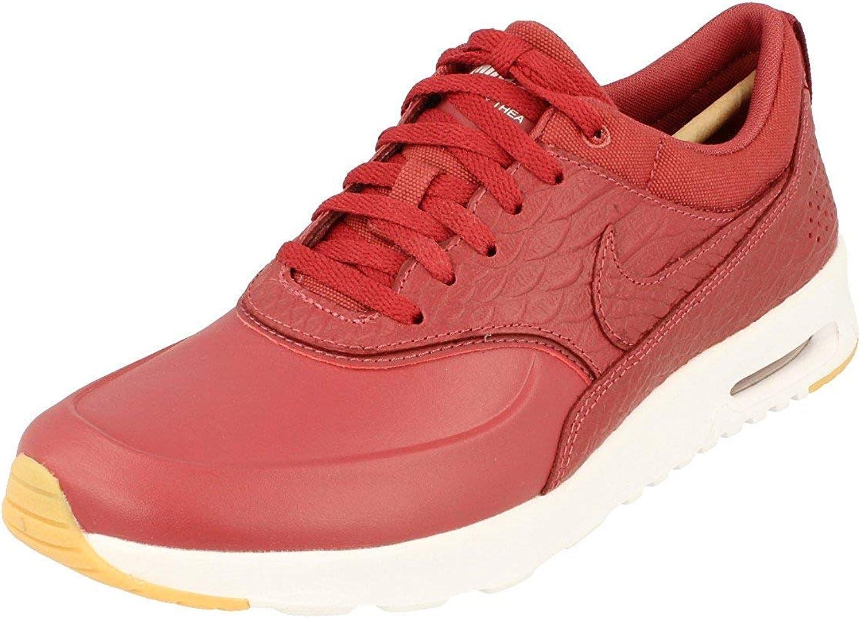basket femmes 2016 nike air max thea sneaker top rouge