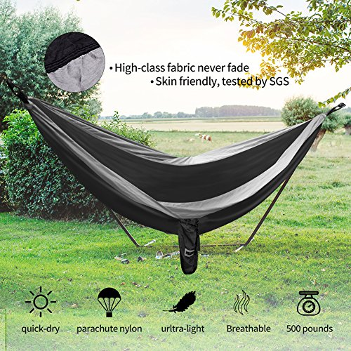HODGSON Camping Hammock XL Double Hammock With Heavy Duty