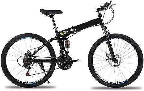 SYCHONG Bici De Montaña Plegable27Speed 24Inches / 26 ...