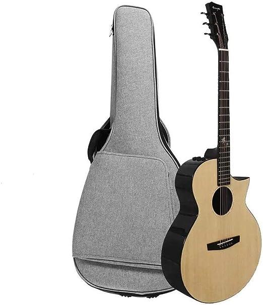 WH-IOE Acústica Guitarra Principiantes 41 Pulgadas Pro Spruce ...