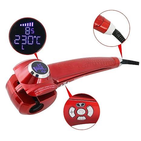 Foshan mingze Pro pantalla LCD rizador de pelo automático pinzas Curling Rizador Pelo Pinzas Herramienta Eléctrica