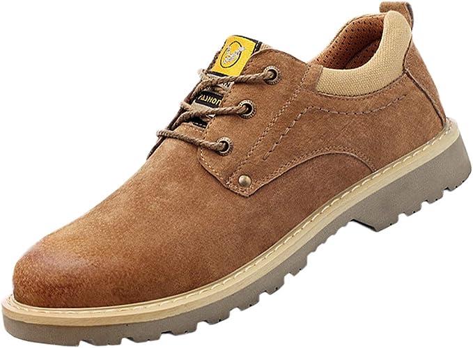 Zapatos de Seguridad Hombres, Zapatillas Trabajo con Punta Acero ...