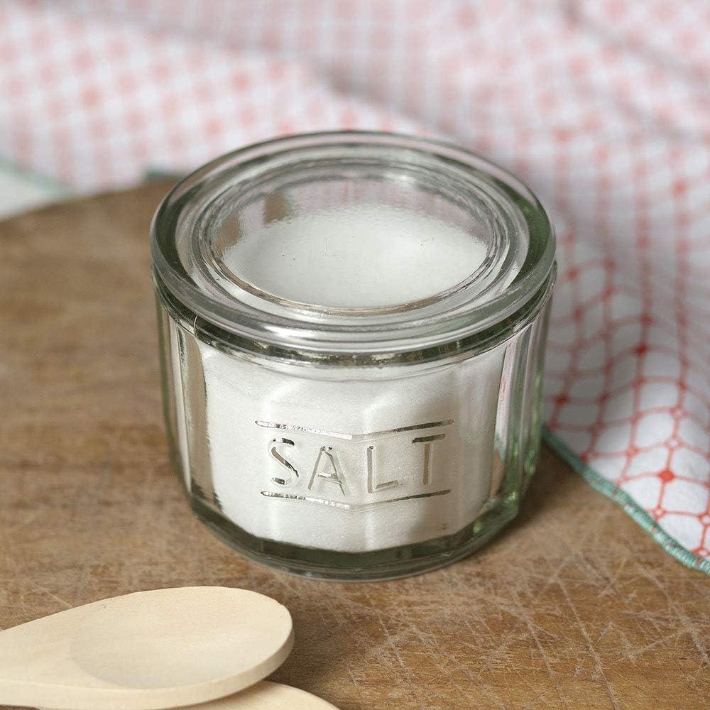 CTW Home Collection 4½'' dia. x 3½''H Glass Salt Cellar Set of 1
