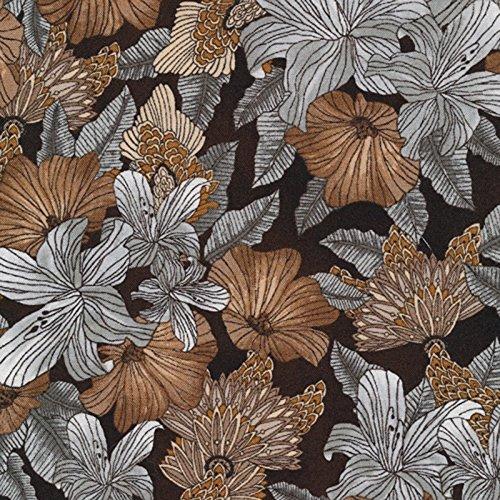 Paintbox Fabric (Elemental Lines Lilies Cotton Quilt Fabric Paintbox Studios)