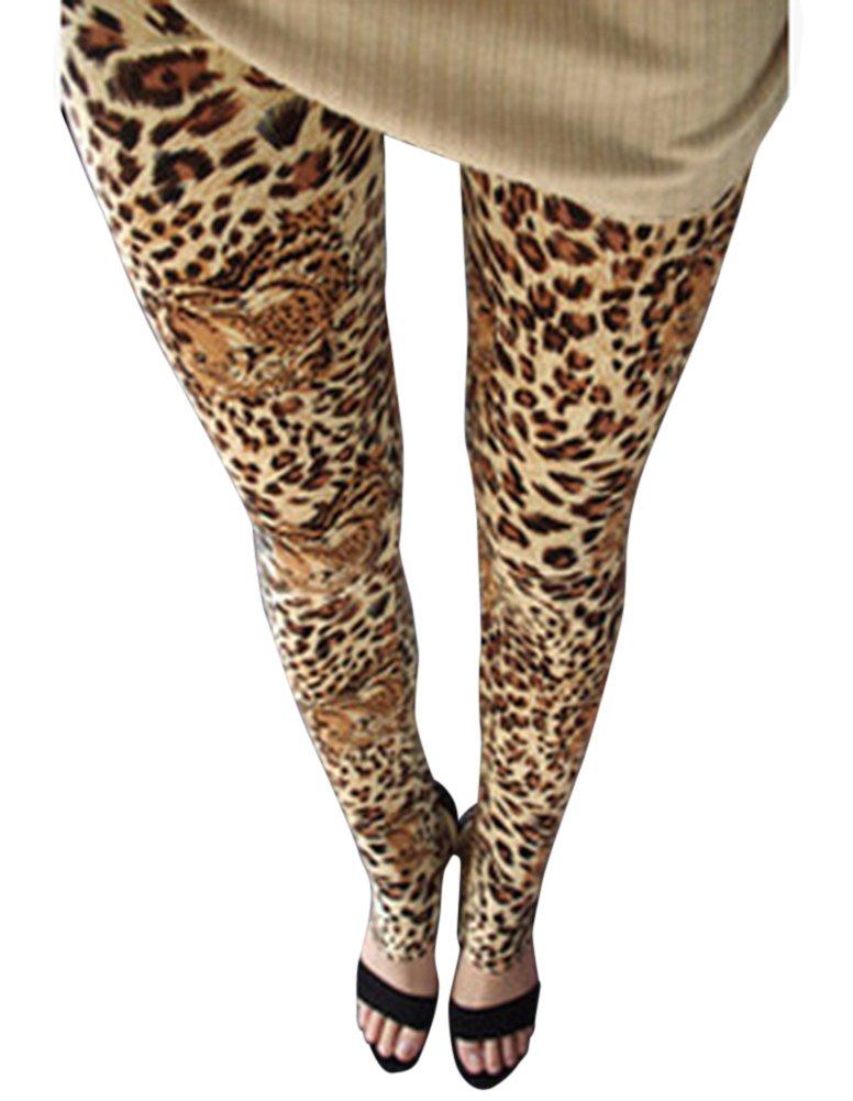 0c715f68058 Guiran Pantalones Mujer Largos Leggings Pantalones Leopardo Leggins Talle  Alto Leggings Casual Leopardo5 Un-Tamaño: Amazon.es: Deportes y aire libre