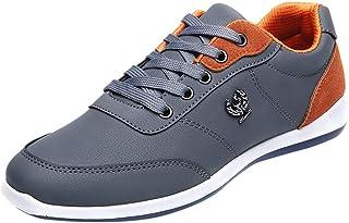 Baskets_Chaussures De Course Mode Hommes Sneakers Marche Chaussures Décontractées Chaussures Respirantes À Lacets