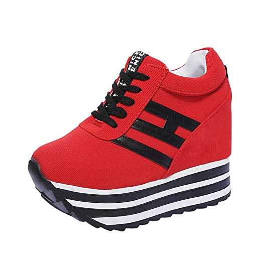 716c17ec6fc64 Amazon.com: Sunsee Gril Women's Lace Up Low Heel Work Combat Boots ...