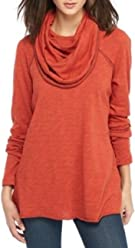 Free People Womens Cocoon Cowl Pullover