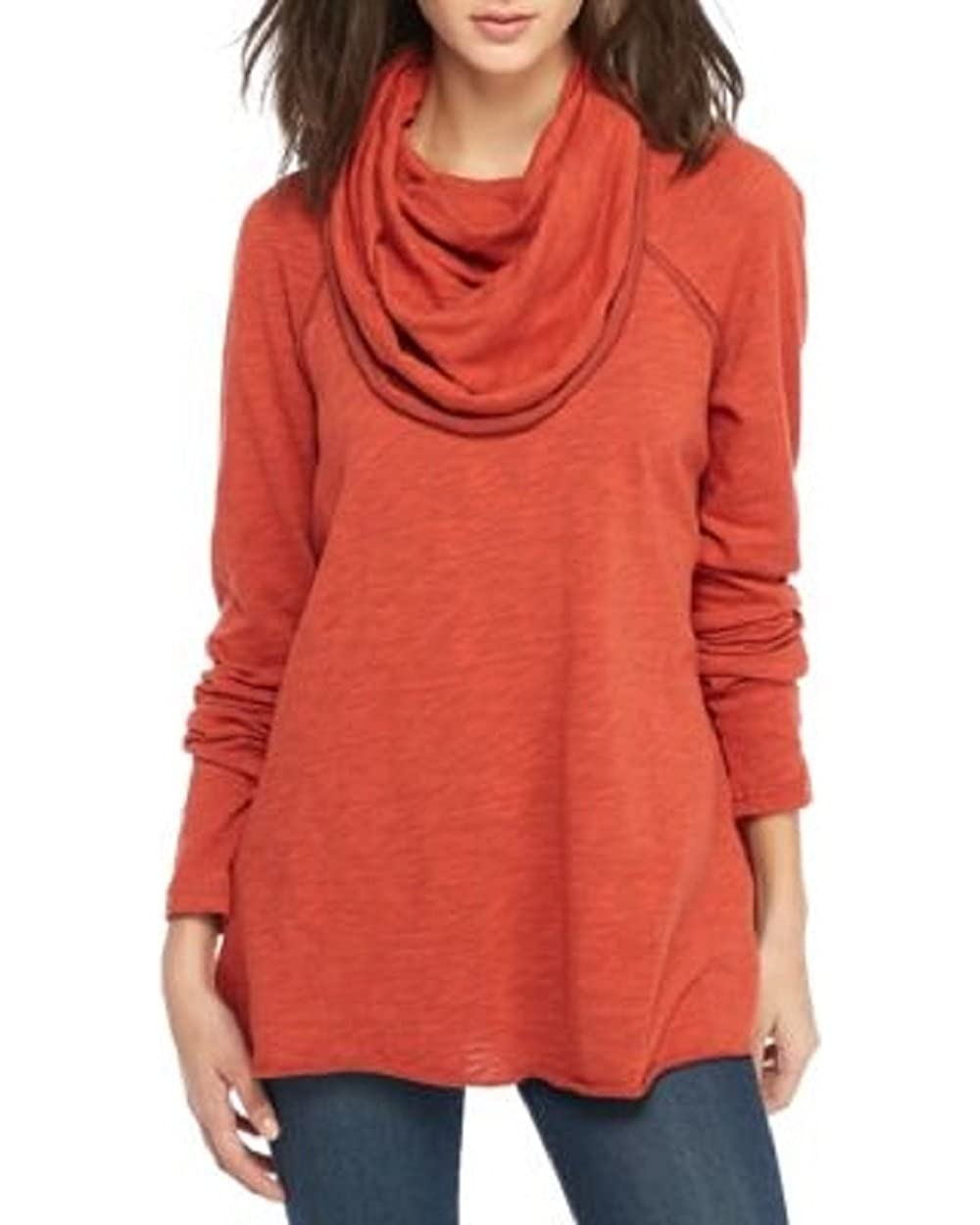 8ef8699b20 Free People Women's Cocoon Cowl Pullover at Amazon Women's Clothing store: