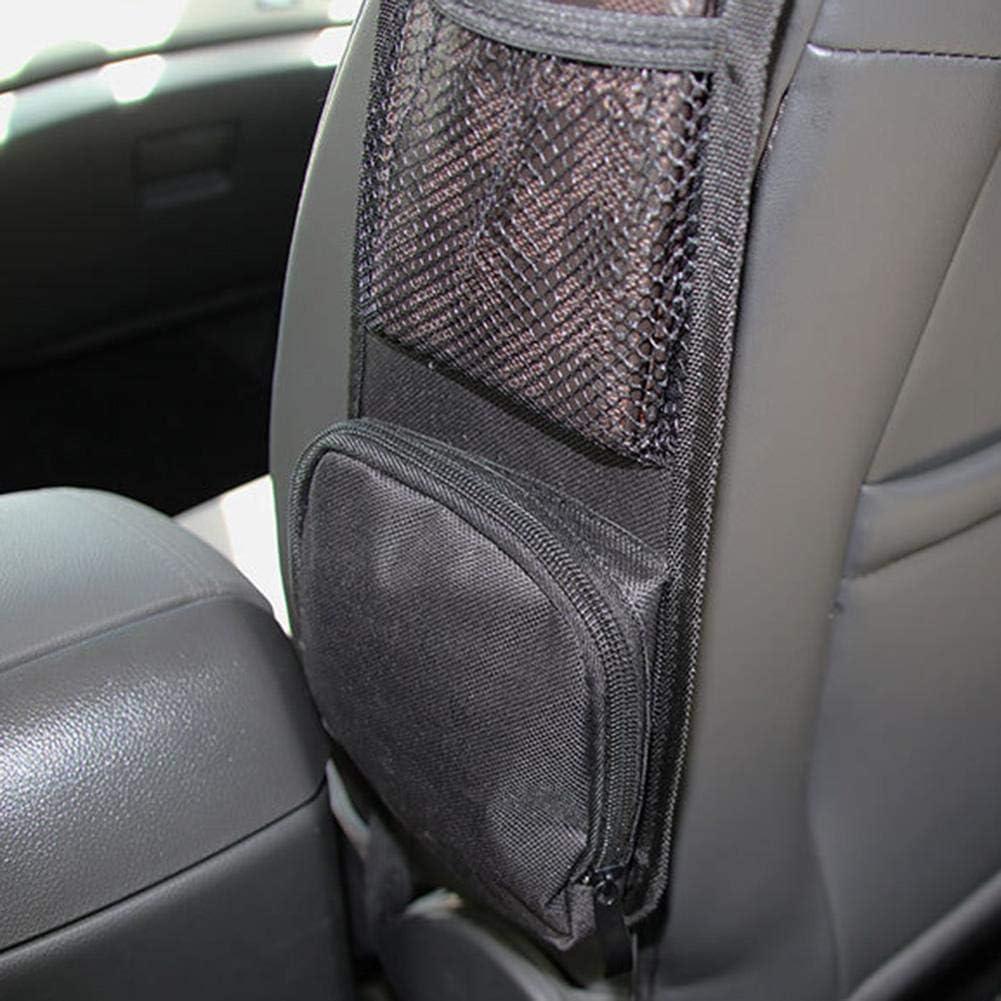 Yunhigh Autositz-Organizer Seitentasche f/ür vordere PKW-Sitze Aufbewahrungstasche aufger/äumt f/ür Auto LKW Mini Van SUV
