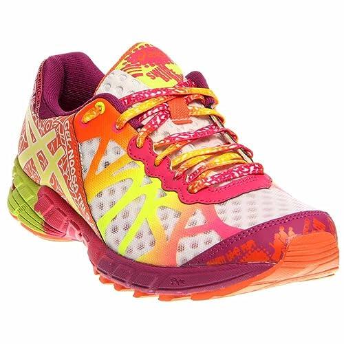 3a1c4c97e italy asics gel noosa tri 8 road corriendo zapatos mujeres amarillo 84fae  dba85