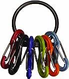 Nite Ize KRG-03-01 S-Biner Key Ring, Black