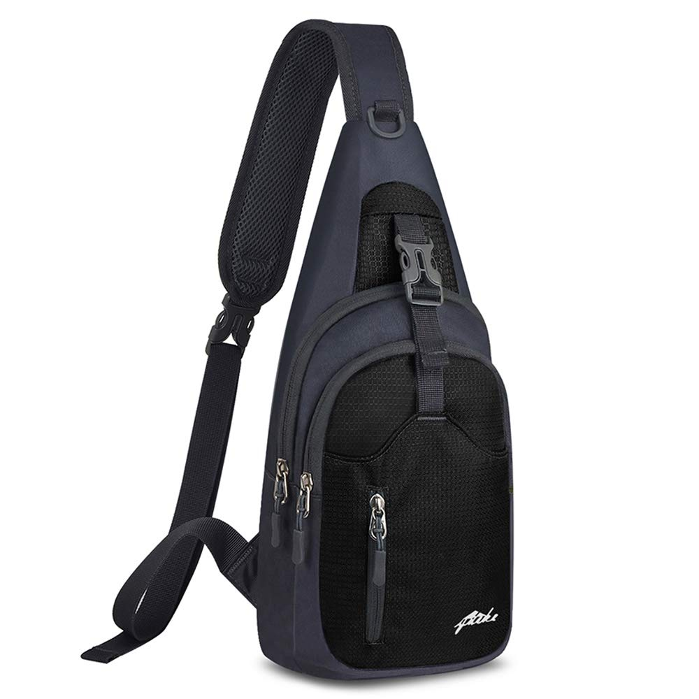 Nylon Crossbody Sling Bag Shoulder Backpack by Y&R Direct