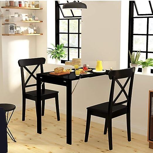 Mesa plegable Mesa de comedor plegable Montado en la pared para ...