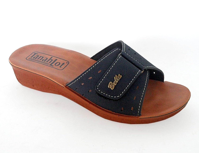 Tanahlot Ciabatta Donna Sanitaria Velcro Zeppa: Amazon.it: Scarpe e borse