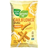 Real Food From The Ground Cauliflower Stalks - 6 Count, 4oz Bags (Cheddar)
