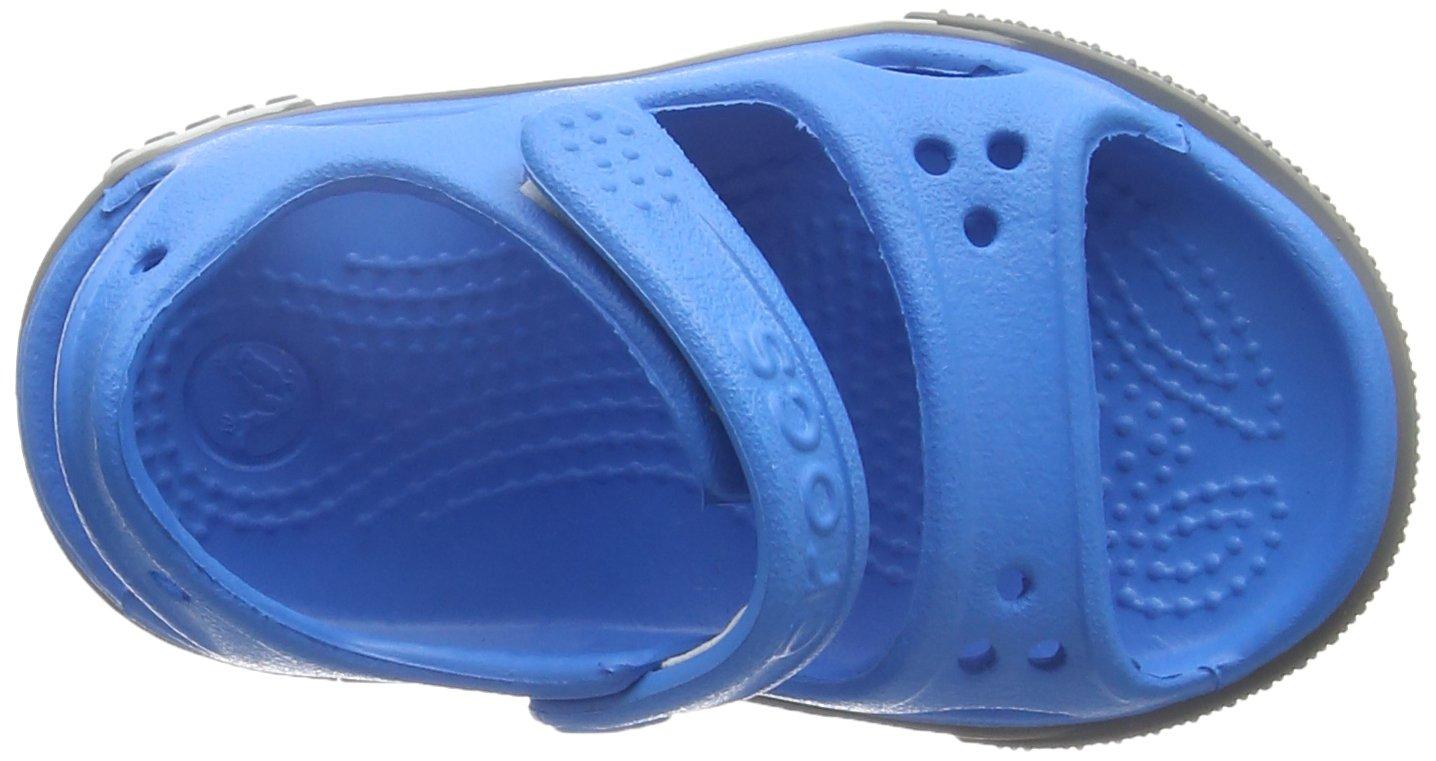 Crocs Kid's Boys and Girls Crocband II Sandal | Pre School Flat, Ocean/Smoke 8 M US Toddler by Crocs (Image #7)