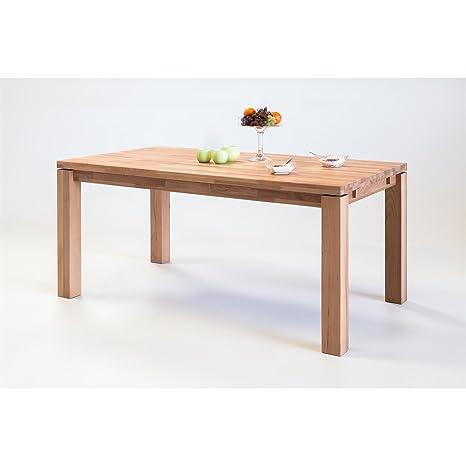 Tavolo da pranzo rustico in legno massiccio da cucina tavolo per la ...