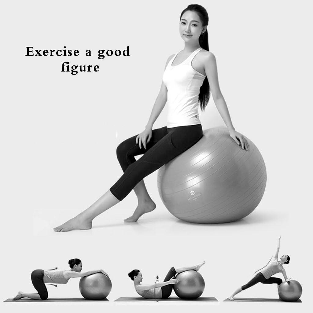 Rodilleras de yoga/balón de fitness pilates gimnasio bola, pérdida ...