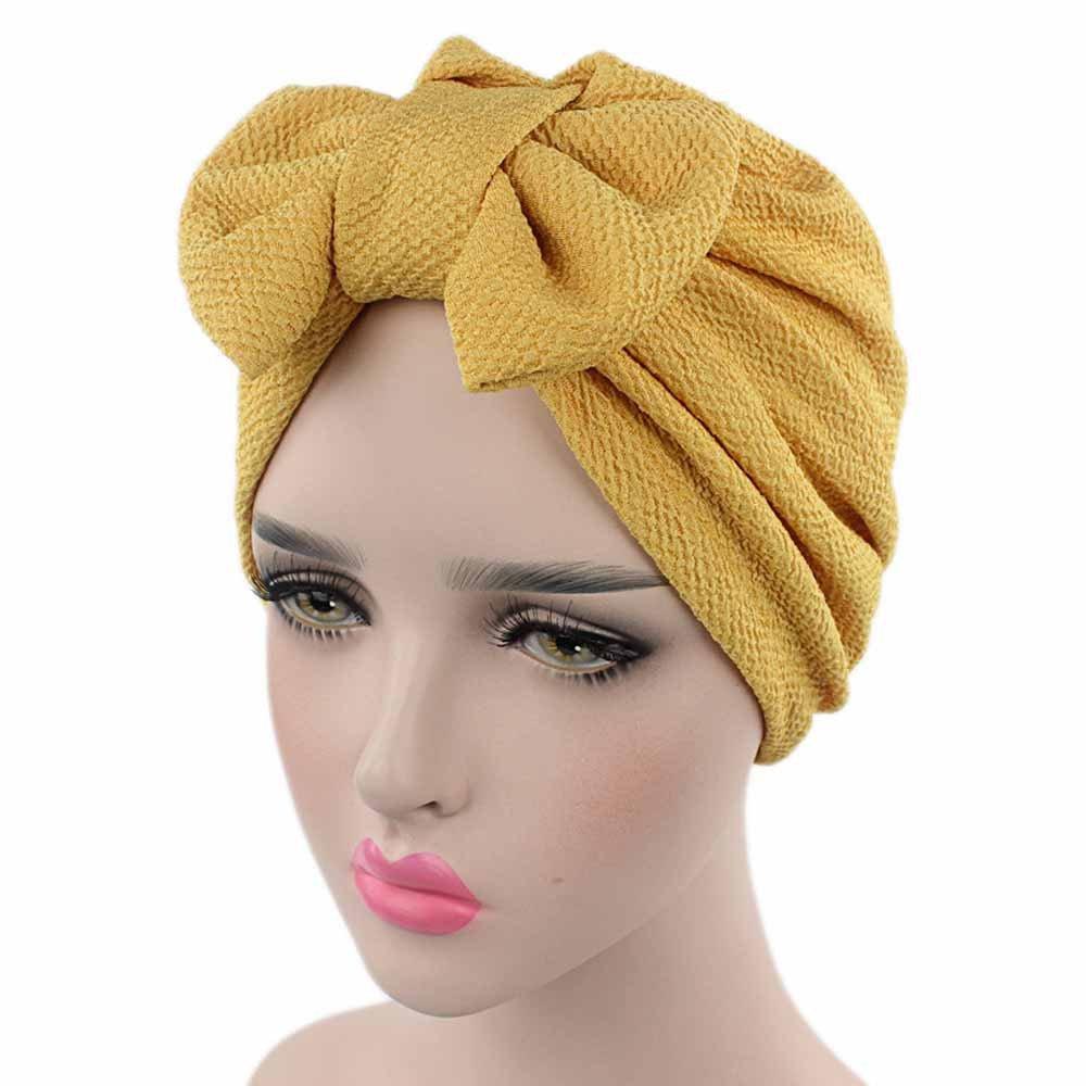 OHQ Sombrero Sombrero Mujeres Bow Cancer Chemo Sombrero Beanie Bufanda Turban Head Wrap Cap Seco Gorra De Beisbol Tapa De Malla: Amazon.es: Ropa y ...