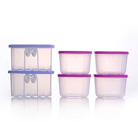 Tupperware - Mini refrigerador para congelador: Amazon.es: Hogar