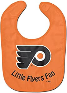 WinCraft NHL Philadelphia Flyers WCRA2062714 All Pro Baby Bib