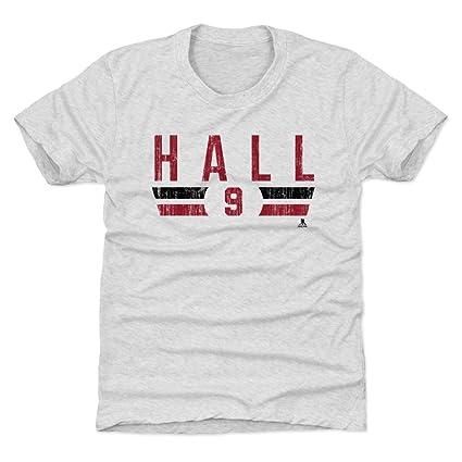 sports shoes bfda5 1d77a Amazon.com : 500 LEVEL Taylor Hall New Jersey Hockey Kids ...