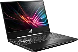 "ASUS ROG Strix Scar II Gaming Laptop, 15.6"" 144Hz IPS Type Full HD, NVIDIA GeForce RTX 2070, Intel Core i7-8750H, 16GB DDR4, 512GB PCIe Nvme SSD, RGB KB, Windows 10, GL504GW-DS74 (Renewed)"