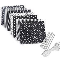 Borstu Pattern Cotton Fabric 7 Piezas Set DIY