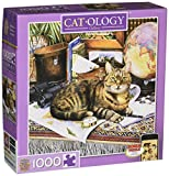 MasterPieces Cat-O-logy Gulliver Square Jigsaw Puzzle, Art Review and Comparison
