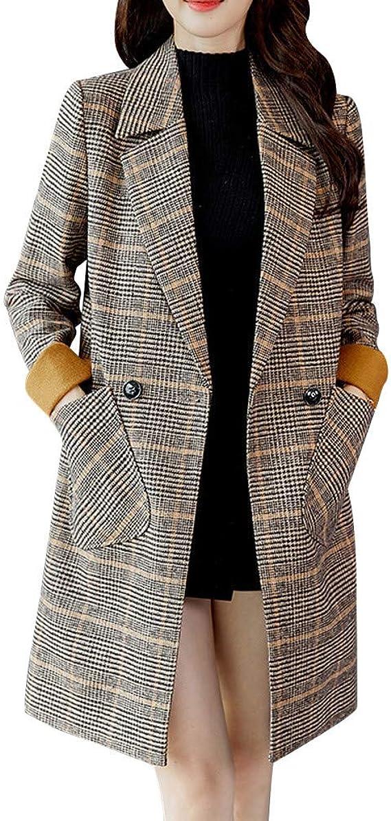 manteau femme hiver carreaux