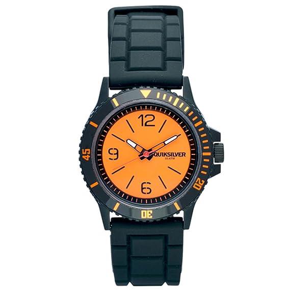 Quiksilver Y045BRBCMO16T - Reloj, correa de silicona color naranja