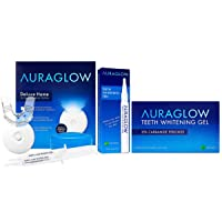 AuraGlow Whitening Kit, Whitening Pen & Whitening Gel Bundle