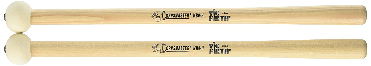 Vic Firth Corpsmaster Bass Mallet -- x-Small Head Hard KMC Music Inc MB0-H