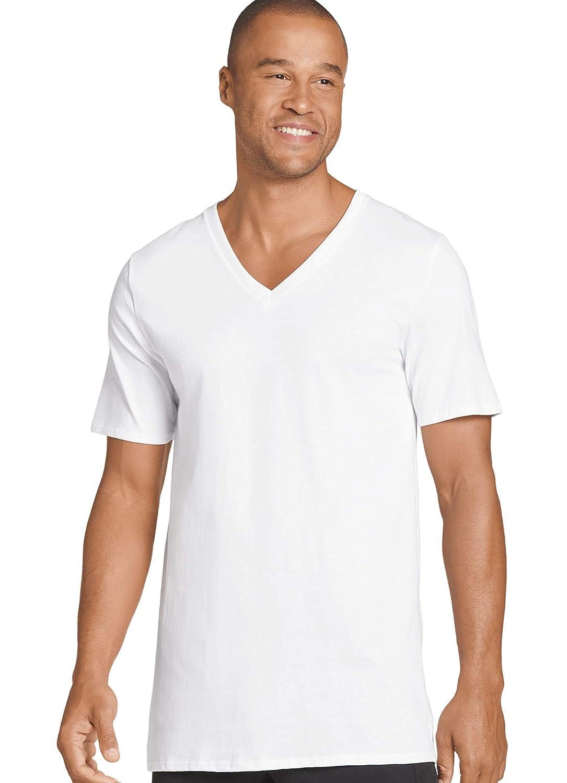 2 Pack Jockey Mens T-Shirts Big /& Tall Staycool V-Neck T-Shirt