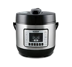 Nu Wave 33101 Nutri-Pot Pressure Cooker 6 quart Black