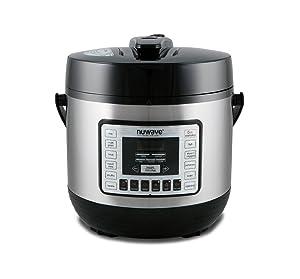 Nu Wave 33101 Nutri-Pot Pressure Cooker 6 quart Black