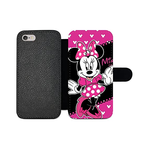 reputable site c6937 47c37 GSPSTORE iPhone 7 Plus,iPhone 8 Plus Wallet case,Mickey Mouse and Minnie  Cute Cartoon Pattern Flip Pu Wallet Case with Card Pockets for iPhone 7 ...