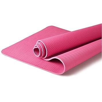 LOFAMI Principiantes Gruesa Antideslizante Estera de Yoga ...