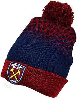 Official Football Merchandise Manchette Bobble Chapeaux–Différentes équipes–n'oubliez Pas de Choisir West Ham F.C 14830