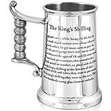 HEAVY GAUGE KING'S SHILLING TANKARD