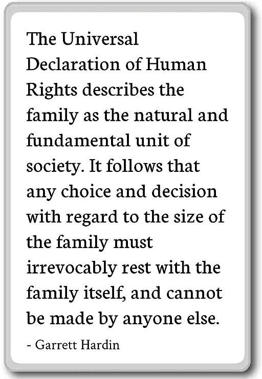 Declaración Universal De Derechos Humanos Imán Para