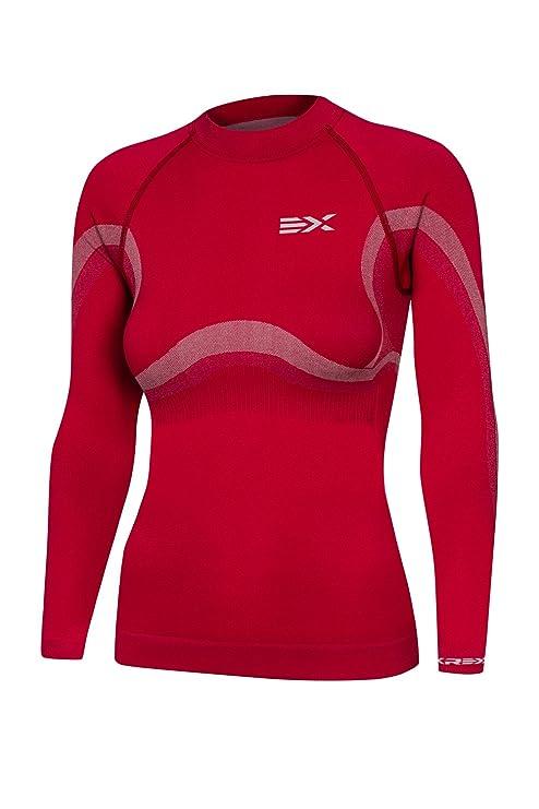 krexus Lady Sport Mujer Térmico de función & Función de ropa interior de esquí – Camiseta