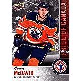 Connor McDavid Hockey Card 2018 Upper Deck National Hockey Card Day Canada #9 Connor McDavid